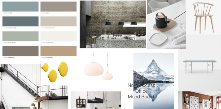 mood board Nord Access
